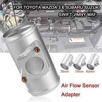Adaptador de Sensor de flujo de aire de coche 63 70 76mm  Sensor de flujo de aire de partes de coche  montaje para Toyota Subaru Mazda 3 6 Suzuki SWIFT JIMNY