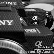 Premium naklejka skóry dla Sony A7III A7R3 A7M3 aparat skóry naklejka Protector Anti scratch Coat Wrap pokrywy skrzynka
