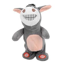 Plush-Toy Interactive Electronic-Animals Recording Educational-Toy Pets Talking Kids