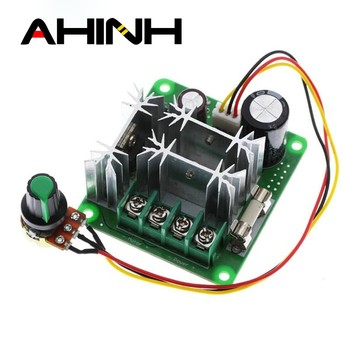 DC 6V-90V 15A DC Motor Speed Controller Stepless Speed Regulation Pulse Width PWM DC 12V 24V 36V 48V 1000W image