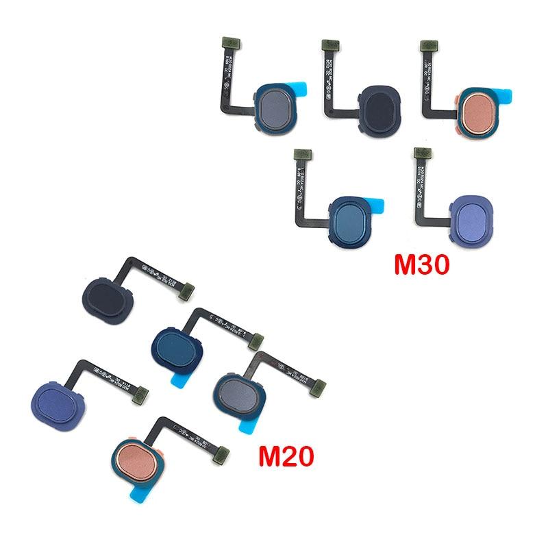 Home Button FingerPrint Touch ID Sensor Flex Cable Ribbon For Samsung M20 M205F M30 M305F Replacement Parts