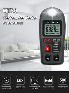 Lux-Meter Pocket-Design Enviromental-Testing MT30 Range 0--200 000lux Lux/fc
