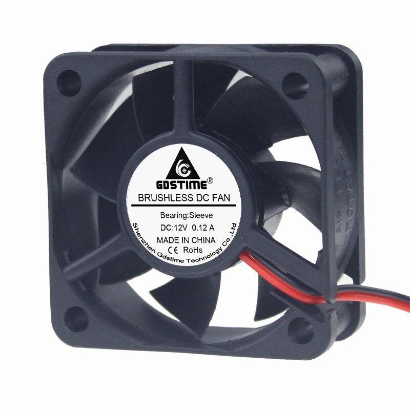 Water /& Wood 30mm x 30mm x 10mm 2Pin DC 12V Sleeve Bearing 6000RPM Cooling Fan