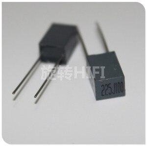 Image 1 - 10pcs Xiamen Faratronic CL23B 2.2UF 100V 2U2 P5MM FARA CL23 225 grigio condensatore a film 2.2 uf/ 100v 225/100V 2200NF