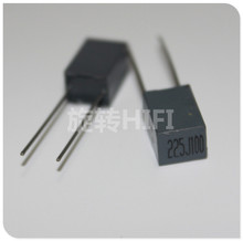 10pcs Xiamen Faratronic CL23B 2.2UF 100V 2U2 P5MM FARA CL23 225 grijs film condensator 2.2 uf/ 100v 225/100V 2200NF