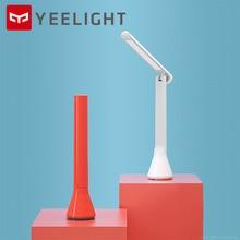 Original mijia Yeelight plegable USB recargable lámpara LED para mesa de escritorio regulable