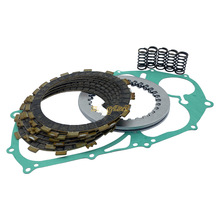 Complete Clutch Kit Heavy Duty Springs and Gasket for Yamaha V Star 650 XVS650 Replacement 3B6-W001G-00-00