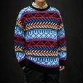 2019 Winter männer Mode Rundhals Mäntel Kaschmir Pullover In Warme Casual Marke Stricken Lose Woolen Pullover Große Größe m-5XL