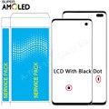 SUPER AMOLED S10 LCD pour Samsung Galaxy S10 plus écran tactile d'affichage à cristaux liquides pour Galaxy G973F/DS G973F G975/DS G975F LCD point noir