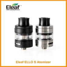 Oryginalny Eleaf ELLO S Atomizer 2ml pojemność zbiornik 510 gwint HW1 HW2 HW3 HW4 cewka Atomizer zbiornik na prostopadłościan Mini prostopadłościan Tap e-cig tanie tanio Metal Wymienne 510 Thread