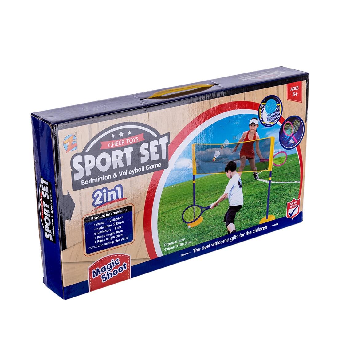 Stonebanks Badminton Tennis Balls Set Kids Parent-Child Educational Game Toy
