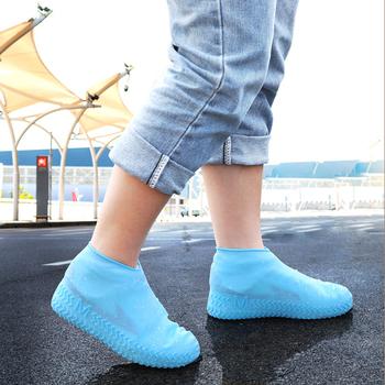 NICEYARD wielokrotnego użytku silikonowe pokrowce na buty antypoślizgowe silikonowe pokrowce na buty Outdoor Camping kalosze wodoodporne pokrowce na buty tanie i dobre opinie Other 23492
