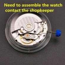 Mouette ST2130 mouvement automatique Clone remplacement pour ETA 2824 2 SELLITA SW200 blanc 3H montre bracelet mécanique horloge mouvement