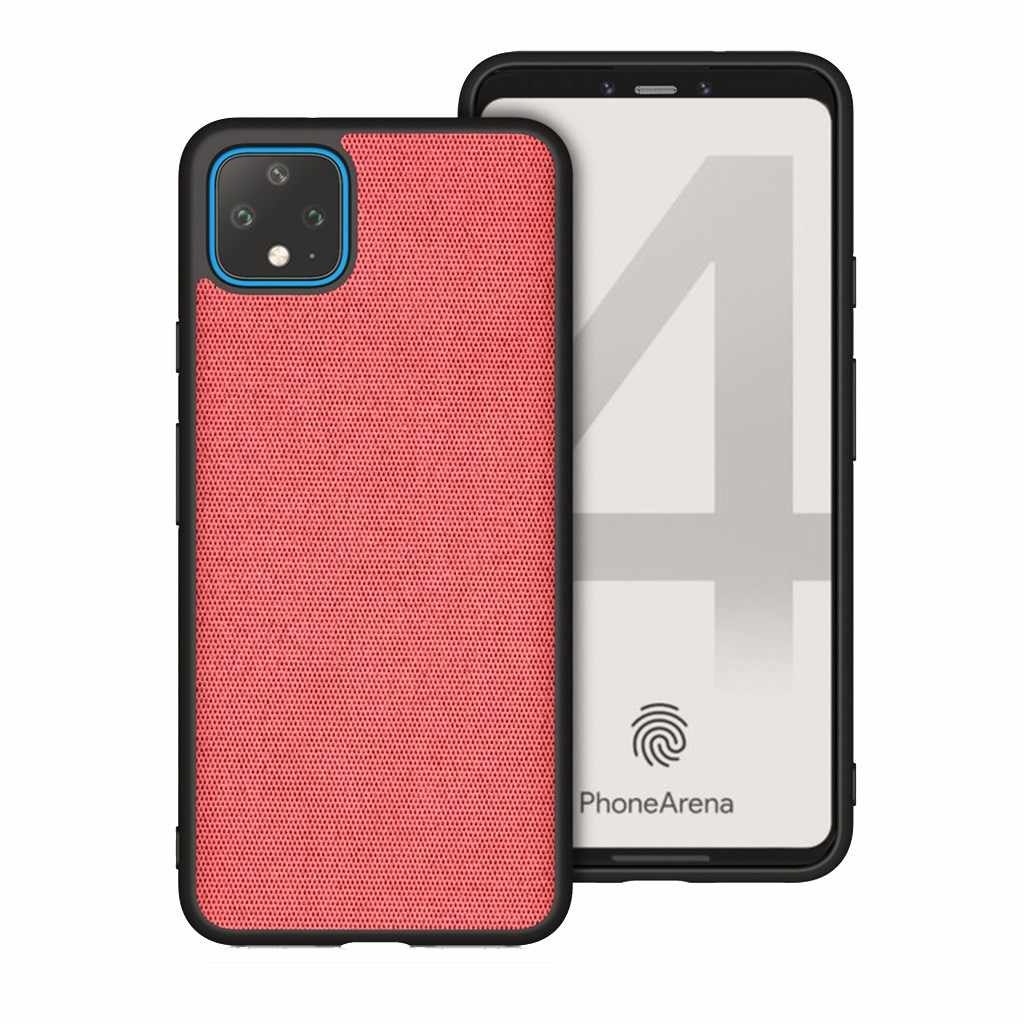 New Original for pixel 4 4XL Case Shock-proof Slim Fabric Clear Bumper Case Cover For Google Pixel 4 XL phone cover