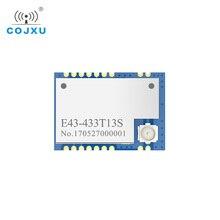 E43 433T13S 433MHz RSSI جهاز الإرسال والاستقبال وحدة SMD 13dBm IPEX UART 433 mhz انخفاض استهلاك الطاقة جهاز ريسيفر استقبال وإرسال