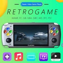 POWKIDDY X20 3599 jeux de poche Console de jeu rétro joueur de jeux vidéo enfants présent 128MB classique Console de jeu portable pour Linux