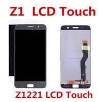 Schwarz weiß Für Lenovo ZUK Z1 Z1221 LCD Display Touch Screen Glas Digitizer Komplette Montage Ersatz Kostenloser Versand