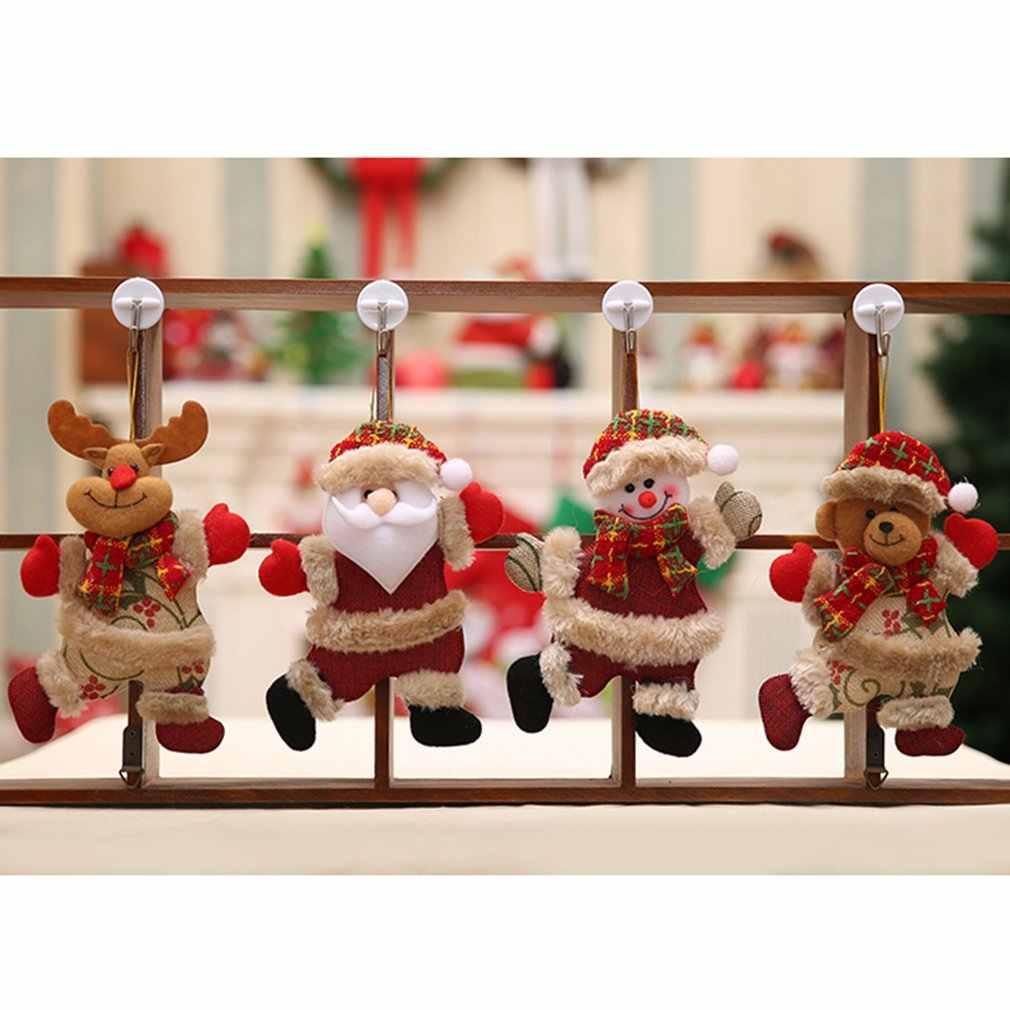 Nieuwe Kerstboom Accessoires Leuke Realistische Kerst Pop Kerstversiering Dansen Doek Avond Opknoping Geschenken