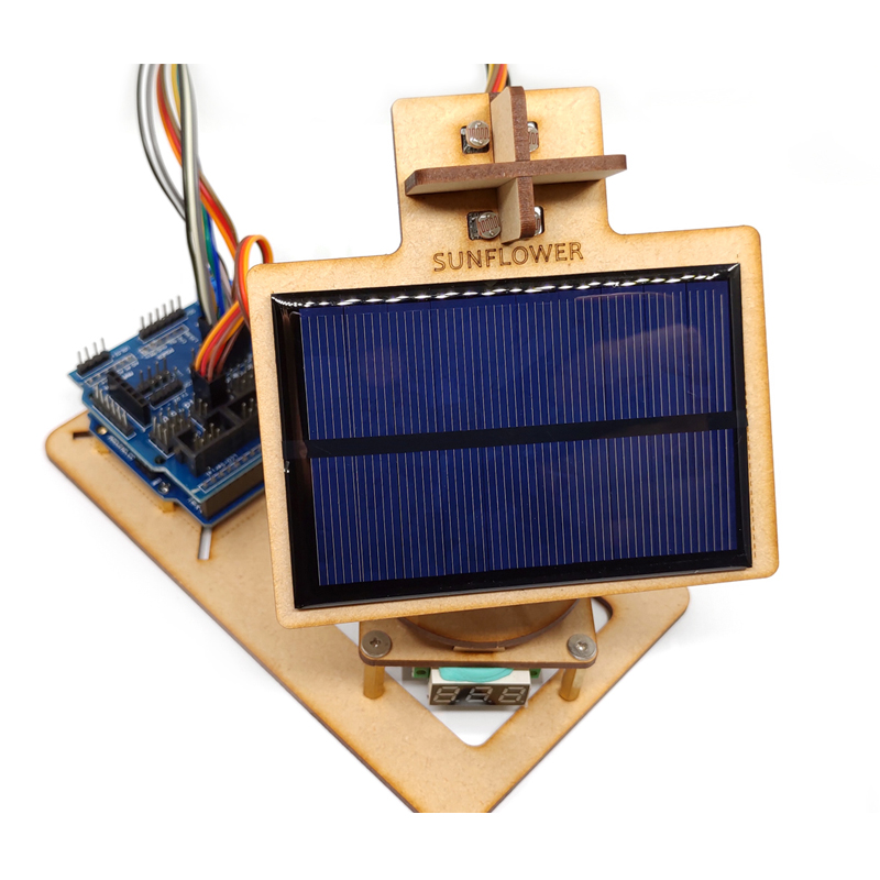Arduino Intelligent Solar Tracking Device Diy Technology Small Production Learning Programming Kit Open Source