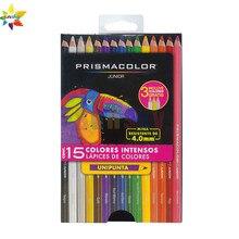 Eua 12 15 24 36 48 contagem original prismacolor júnior lapis de cor sanford zero alunos iniciantes básicos pintura lápis oleosos