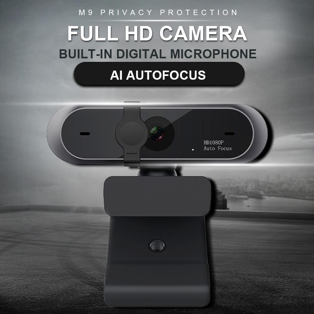 In Stock 1080P/720p HD Mini Computer Webcam Anti-peeping Rotatable Adjustable Camera For Live Broadcast Video Conference Work