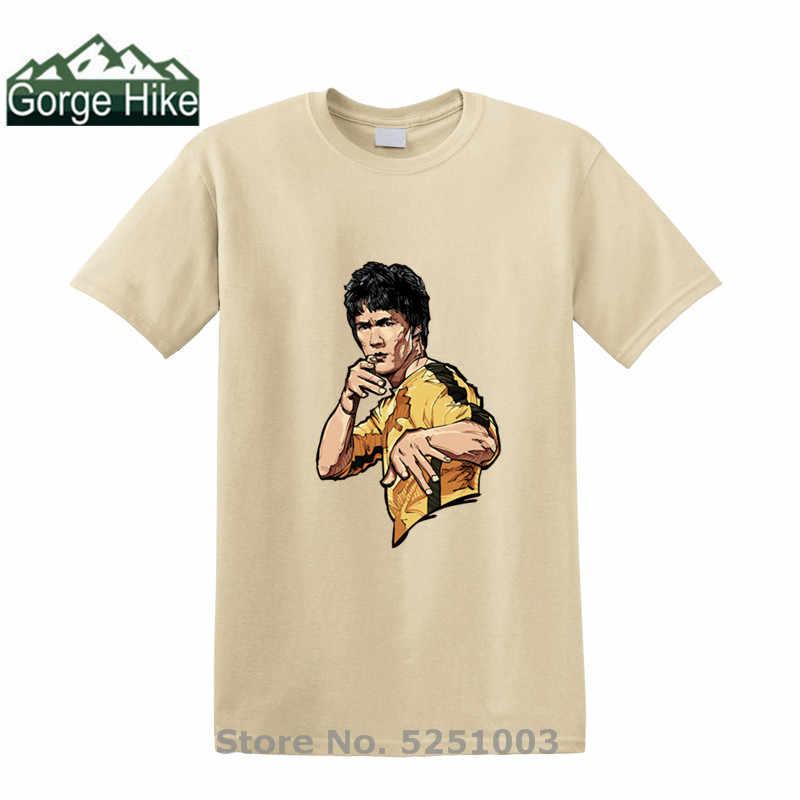 2020 nova camisa masculina brucee lee retrato impressão masculina legal casual orgulho t camisas dos homens hip hop roupas de rua hip hop