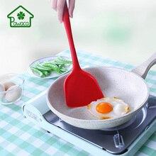 Кухонные силиконовые турнеры не прилипающий для готовки посуда Совок жареная Лопата шпатель для яиц рыба посуда для выпечки инструменты лопатки турнеры