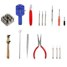16 комплектов ремонт инструменты настольные часы комплект профессиональный практический инструмент-часы многофункциональный пластичный упаковывая с крюком