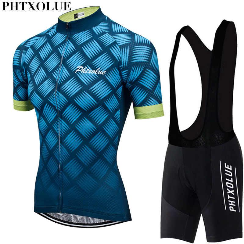 Phtxolue 2020 Женская велосипедная одежда Комплект для велоспорта дышащий анти-УФ велосипедная одежда комплект одежды для велосипеда костюм Велоспорт Джерси наборы