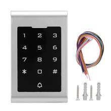 125KHZ RFID Door Opener 2000 Users Wiegand26 Card Password Security Entry System Keypad Door Entry(China)