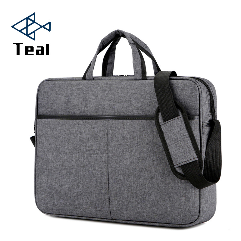 2020 Briefcase Men Handbag Large Capacity Portable Thin Super Multifunction Big Size 15.6 Inches Designer Laptop Handbags
