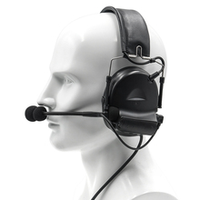 Electronic Tactics Comtac II Headset Military Airsoft  Hunting Headphones Noise Reduction Pickup Hearing Protection Earphone недорого