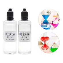 100ml Highest Grade Acrylic Pour Oil Quicksand UV Epoxy Resin Silicone Mold Liquid Flow Art Oil Jewelry Making Tools