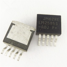 5 pces LM2585S-ADJ LM2585SX-ADJ a-263 novo oiginal produto novo original simples switcher®3a flyback regulador ic novo