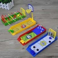 Juegos de mesa de escritorio para niños y adultos, 1 Uds., juego de mesa para jugar al baloncesto, fútbol, Golf, regalo familiar