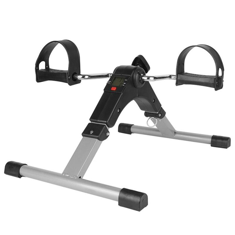 Exercice portatif de pédale de bras et de jambe de pliage avec l'affichage numérique d'affichage à cristaux liquides - 3