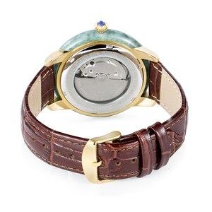 Image 2 - ผู้ชายคลาสสิกหยกนาฬิกาธรรมชาติบริสุทธิ์วัสดุผู้ชายนาฬิกากันน้ำ Relogio Masculino Montre Homme นาฬิกาข้อมือชาย