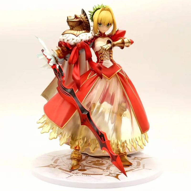 Anime Fate Grand Order Figma Jouets Nero Claudius Action Figure Figurines 15cm