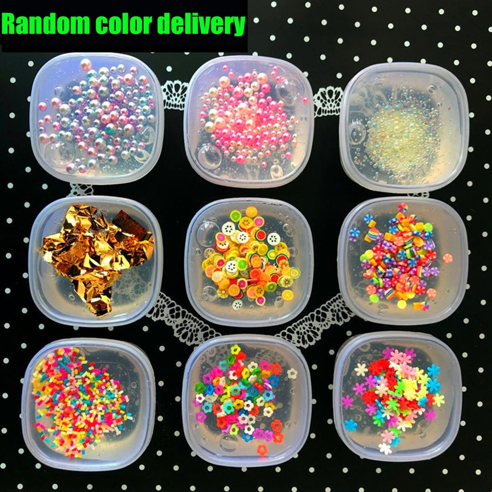 Candy Random Delivery Fluffy Mud Stress Relief Kids Toy Sludge DIY No Borax Fun Ultra-light Non-stick Hand Puzzle Toy