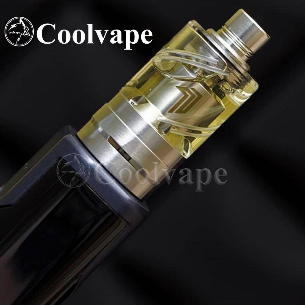HOT Coolvape Bellcap FOR Yftk Kayfun Prime RTA Fill Bellcap With Drip Tip Vape 22mm 2.5ml Capacity E-ecigarette Accessories