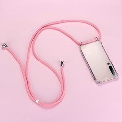 Luxury Lanyard Silicone Phone Case For Xiaomi Mi 10 9 8 T Lite Pro Redmi Note 10 9 8 7 6 5 Ultra-thin Necklace Rope Cover Coque