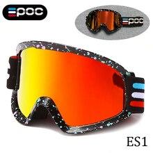 Eyewear Sunglasses Goggles Cycling POC Snow Skiing Anti-Fog Double-Layers Women UV400