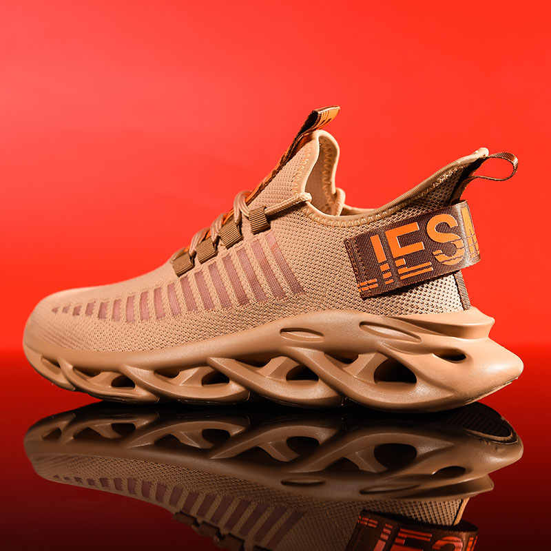 男性ブランドランニングシューズ快適なスポーツアウトドアスニーカー男性アスレチック通気性靴 Zapatillas ウォーキングジョギングシューズ