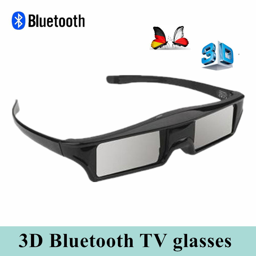 Official 3D Bluetooth Rechargeable Active Shutter Glasses for Sony / Panasonic /Sharp/ Samsung 3D TV EPSON Projector Series