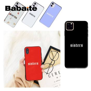 Babaite sisters James Charles Phone Case shell cute For iPhone 8 7 6 6S Plus X XS MAX 5 5S SE XR 11 11pro promax 12 12Pro Promax image
