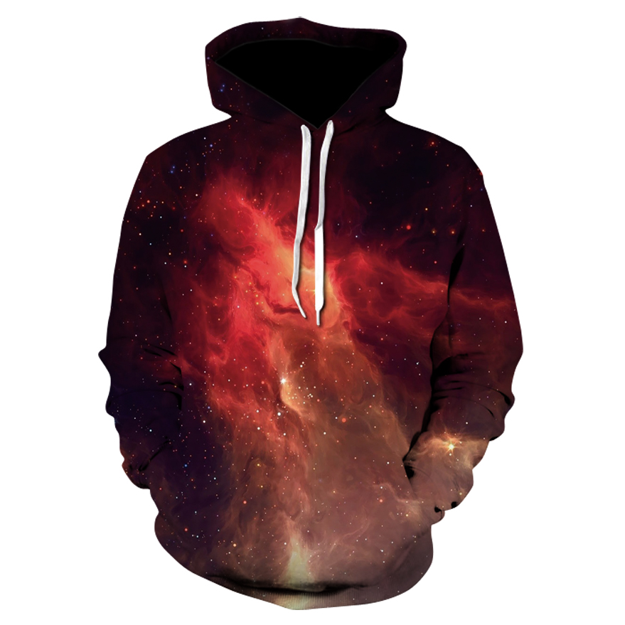 Anime Hero Brand Space Galaxy Hoodies Men/Women Sweatshirt Hooded 3d Brand Clothing Cap Hoody Print Paisley Nebula Jacket