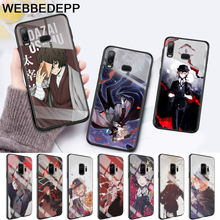 Japan anime bungou stray Glass Case for Samsung S7 Edge S8 S9 S10 Plus A10 A20 A30 A40 A50 A60 A70 Note 8 9 10 harry styles butterfly glass case for samsung s7 edge s8 s9 s10 plus a10 a20 a30 a40 a50 a60 a70 note 8 9 10