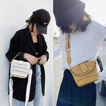 Beibaobao Women Shoulder Bag 2020Summer New Cutout Bucket Women Messenger