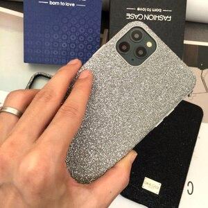 Image 3 - 양가죽 모든 항목을 포함하는 iphone xs 용 뒷면 커버 케이스 max xr 11pro max 7 8 plus 금속 단추 고급 가죽 케이스 CKHB BD2