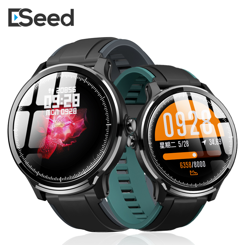 ESEED SN80 smart watch men IP68 waterproof 60days long standby 1.3 inch full touch screen Allloy case Heart rate smartwatch(China)